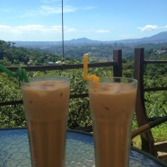 A roasting hot day and a sweaty hike & cable car ride, these iced lattes made it all worth it!