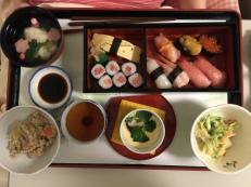 My celebration sushi